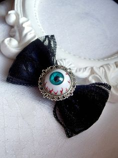 Bloody eyeball  gothic/ psychobilly/rockabilly by SweetAsylumShop, €5.90