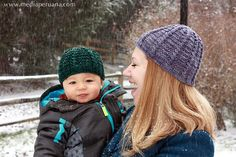A new knitting pattern from MediaPeruana Designs: Nevado. A cozy unisex hat knit up quickly in worsted weight yarn. Knit Crochet, Crochet Hats, Waffle Stitch, Snug Fit, Ravelry, Knitted Hats, Boy Or Girl, Knitting Patterns, Baby Kids