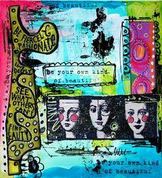 Art cards with video tutorial Lizzy Wurmann G.