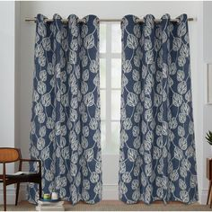 You'll love the Kennebunkport Cotton Canvas Nature/Floral Semi-Sheer Grommet Curtain Panel at Wayfair - Great Deals on all Décor & Pillows products with Free Shipping on most stuff, even the big stuff.
