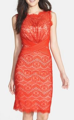 Beautiful lace sheath dress http://rstyle.me/n/mzy39nyg6