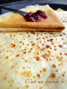 Pate a crepes : The recette