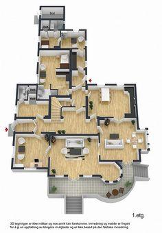 Tårnhuset i Mandal - Herskapelig villa i dragestil på stor tomt