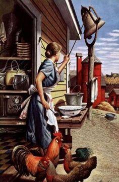 "Farm Blessings ~""Old Fashion Vintage Farmer's Wife"" ~"
