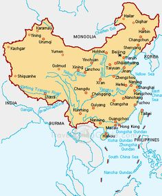 Map of china i was born in tai shan near guangzhou in the south i here we offer the best strategy and marketing consulting for you to get the greater china market please contact princetonchinayeah gumiabroncs Gallery