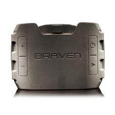 Braven BRV-1 Wasserdichter, robuster Bluetooth-Lautsprecher mit integriertem Mikrofon für den Outdoorgebrauch