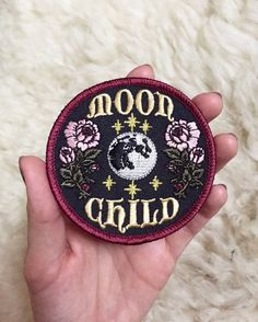 "Moon Goddess Market Original Moon Child Patch Pre-Orders! 3"" Iron on patch"