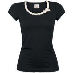 My Darling Shirt - Girlie trøje af Vive Maria - Artikelnr.: 243088 - fra 259,95 kr - EMP Danmark ::: Merchandise ::: Streetwear ::: Modetøj