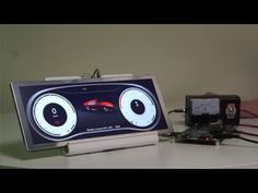 Fast booting Qt instrument cluster - YouTube
