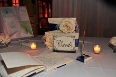 Wedding entrance and signature book table #YourMiamiWedding