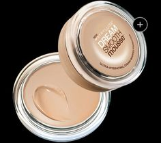 Dream Smooth Mousse by Maybelline. Foundation that doesn't feel like you're wearing a mask, finally!