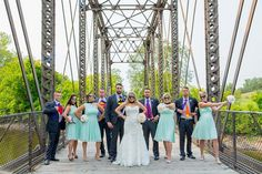Superhero themed epic wedding party photo - Coppersmith Photography