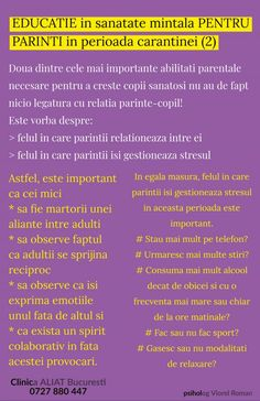 Sfaturi de sanatate mintala pentru parinti in perioada carantinei COVID - 19 - Aliat ONGAliat ONG Wordpress