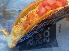 Taco Bell's Spicy Chicken Cool Ranch Doritos Locos Tacos: What Went So Terribly Wrong Hot Dog Buns, Hot Dogs, Fast Food Reviews, Ranch, Spicy, Tacos, Chicken, Cool Stuff, Ethnic Recipes