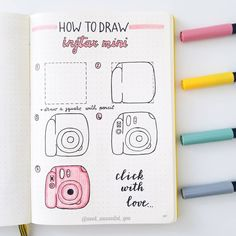 "🌱 Seed Successful You on Instagram: ""TUTORIAL: Hi friends! 🙆 Today Im back with a tutorial on how to draw instax mini. It was a little tricky to set it up so hope you find it…"""
