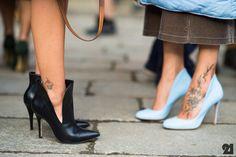 Fashion + Ink//Patricia Manfield + Gilda Ambrosio   Milan