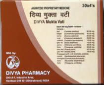 Divya Mukta Vati Cures high blood pressure caused by any cause, either by kidney disorder, heart disease or by increased cholesterol, anxiety, tension, or for inherited reasons.