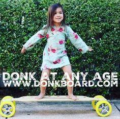 A #fun #exercise for all #ages!  www.DonkBoard.com  #donkboard #Donk #longboard #play60
