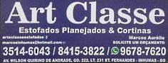 Eu recomendo Art Classe Estofados- Setor Fernandes, #Inhumas, #Goiás, #Brasil