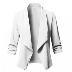 20ed2b1e17 Blazer básico feminino - Compre com Frete Grátis na Azza