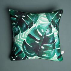 Trouva: Sass & Belle Tropical Print Cushion