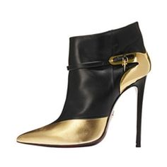 Glitter Slip-On Stiletto Heel Fashion Boots
