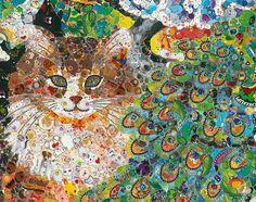 Ye Hongxing's astounding sticker art | Full Moon Flight Gallery