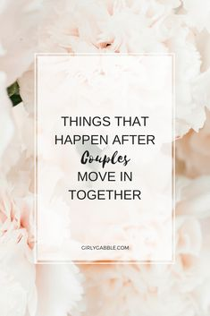 Things that happen after couples move in together + Signs your ready & the silly things they argue about! Sometimes living together with your partner, can. Living Together Couples, Living Together Quotes, Living Together Before Marriage, After Marriage, Marriage Tips, Love And Marriage, Relationship Advice, Arguing With Boyfriend, Move In With Boyfriend