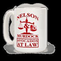 Nelson & Murdock Avocados At Law Mug