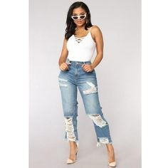 women Sexy ripped jeans Girls gloria jeans with high waist ladies mom denim pants femme boyfriend jeans for Calca jeans feminino – Hot Products Sexy Jeans, Womens Ripped Jeans, Denim Jeans, Skinny Jeans, Jeans Women, Ripped Women, Ripped Denim, High Jeans, High Waist Jeans