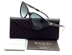 1389f3656a21 affiliate link- $241.97 Gucci Optyl Black Flower Grey Gradient / Sunglasses  GG3633 n s WM6322 Sunglasses