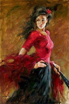 #Flamenca #Gitana #Andaluza