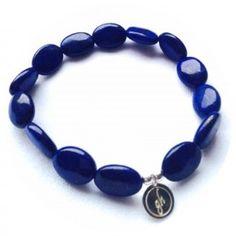 gohi classic Lapis Beaded Bracelets, Classic, Jewelry, Fashion, Jewellery Making, Jewlery, Jewelery, Fashion Styles, Pearl Bracelets