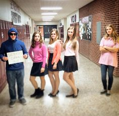 Mean Girls for Group/Twin Day