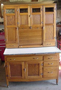 vintage kitchen hoosiers | Keep It Country Antiques Quality American Oak Pine Furniture Prairie ...