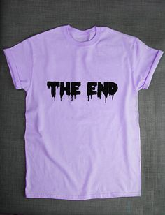 Pastel Goth T-Shirt The End Pastel Goth by ResilienceStreetwear