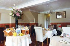 Ormonde House Hotel, Lyndhurst, Hampshire, England. Lunch.