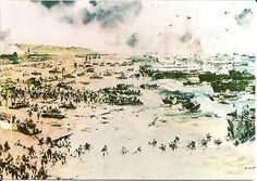 Postcard Military Normandie France The battle Rages