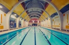 Photography: Franck Bohbot casts a beguiling stillness over public swimming pools