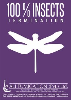 Ali Fumigation.  Complete solution for insect termination for open air outside and inside covered area premises.