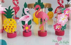 Luau Theme Party, Aloha Party, Party Themes, Flamingo Birthday, Flamingo Party, Luau Decorations, Birthday Decorations, Cinderella Party, Tropical Party