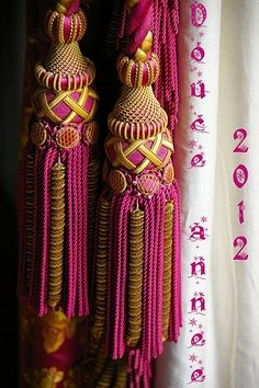 Double Tassel Tieback.  Delicious.... www.kennedydesigngroup.ca