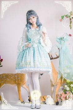 Stardust Jewel Lolita Blouse & A-line Super Puffy Lolita Petticoat - My Lolita Dress