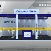 6 Meter x 4 meter Exhibition Booth Design Ahmedabad, Pune, Hyderabad, Exhibition Stall Design, Square Meter, Construction, Building