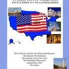Come travel the United States of America and learn about these important landmarks.  From the majestic Mount Rushmore to the inspirational  Alamo, your students will learn the rich history behind some of the USA's famous monuments.This 20 page package includes worksheets for 5 student webquests . An Answer key is provided.