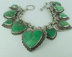 Rare Sterling Silver Vintage Designer Joan by luxuryestatejewelry Heart Bracelet, Heart Jewelry, Jewelry Rings, Bracelet Charms, Charm Bracelets, Jewelry Ideas, Jewelry Box, Jewellery, Sterling Silver Jewelry