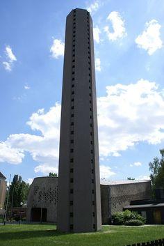 Zum Heiligen Kreuz (Düsseldorf-Rath, 1958) | Structurae