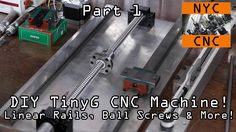 DIY CNC Machine: Linear Rails + TinyG Part 1!  Widget40