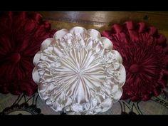 Super easy round cushion.Pink ♛princess♛ pumpkin cushion. - YouTube