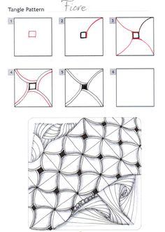 How to draw FIORE « TanglePatterns.com